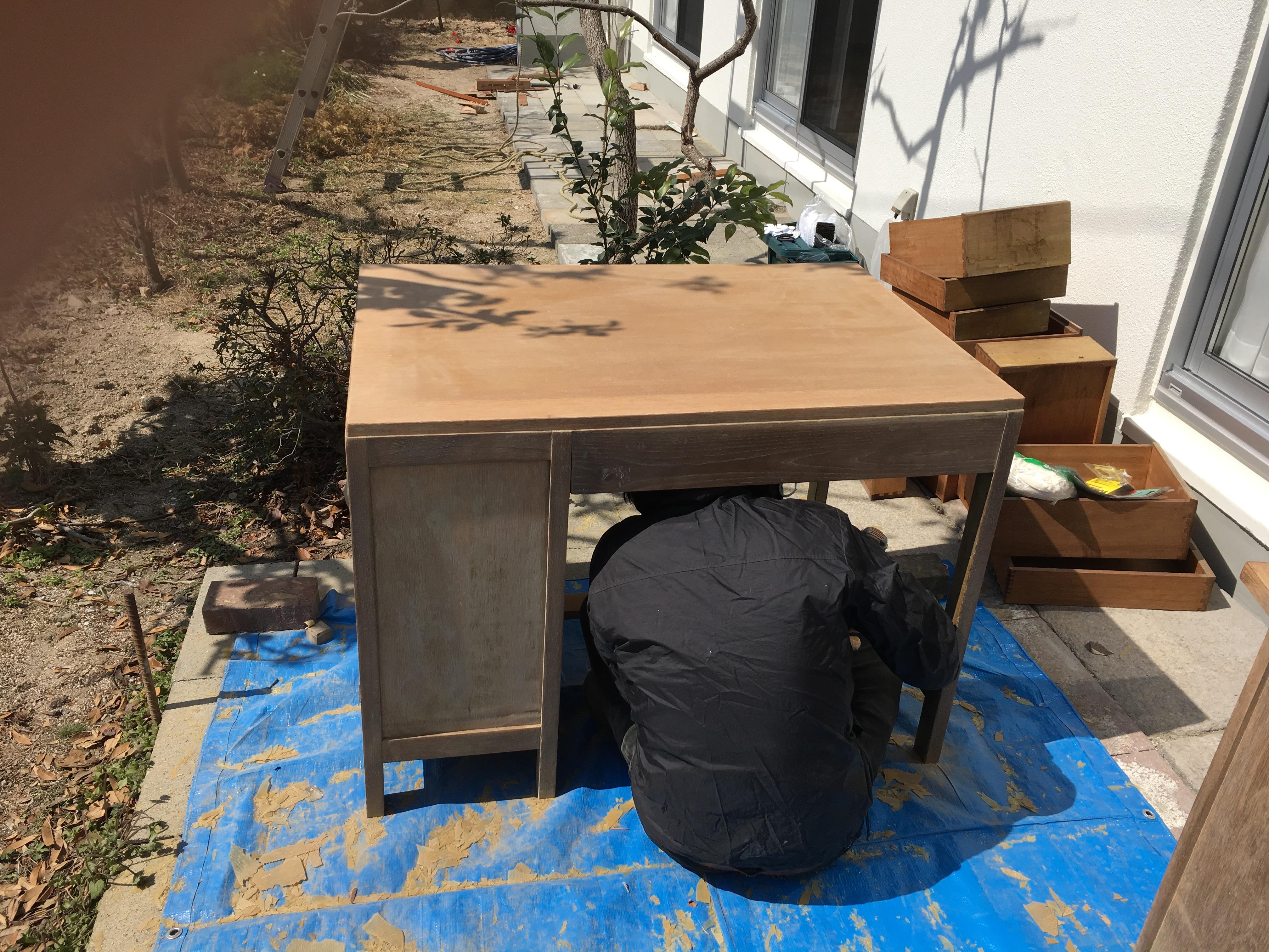 リメイク 机 DIY
