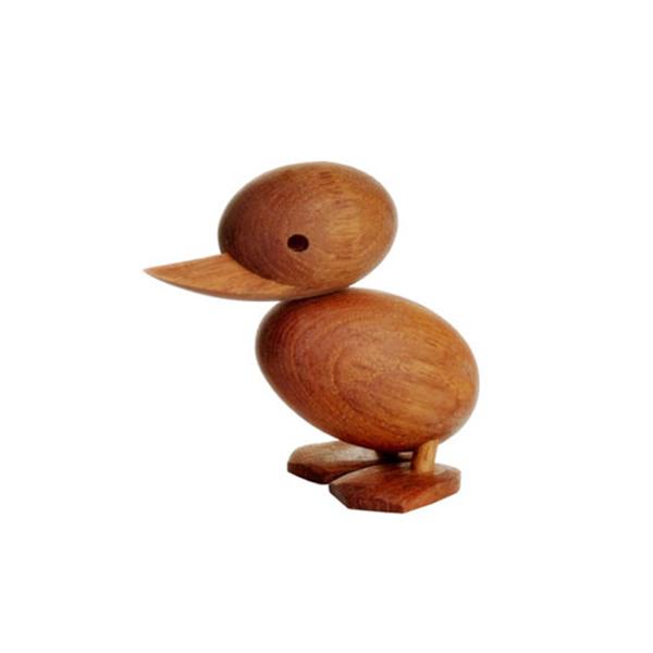 チークの人形duck