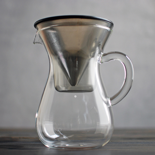 収納可能なコーヒーカラフェ