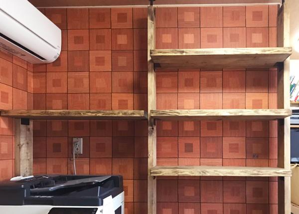 壁面収納diy
