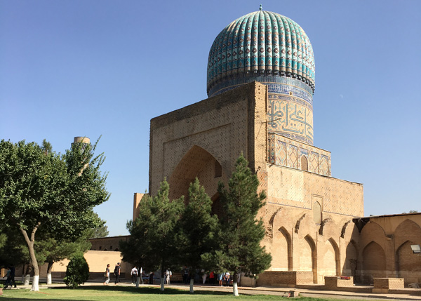 アスタス研修旅行モスク
