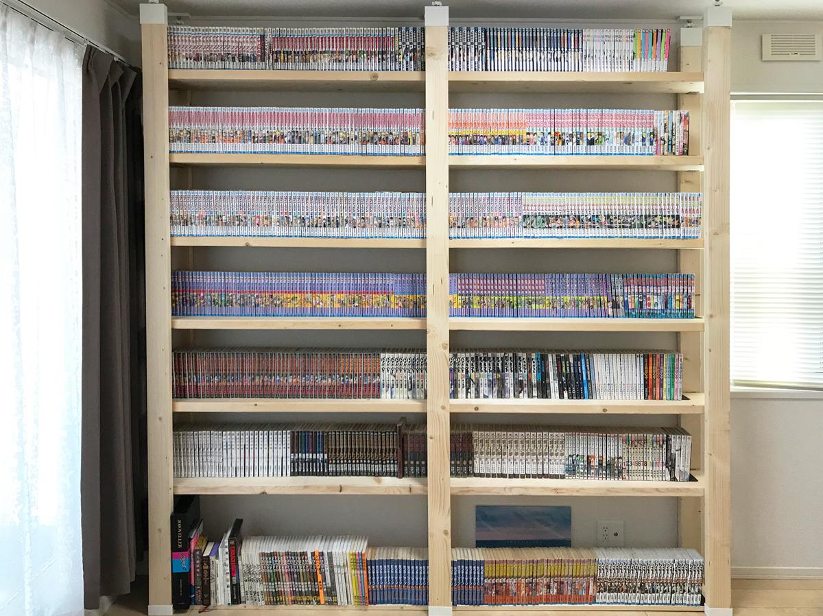 DIY 広島 本棚