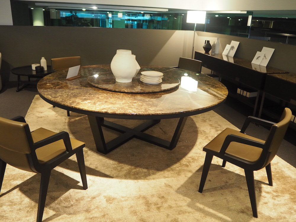 大理石 中華 テーブル