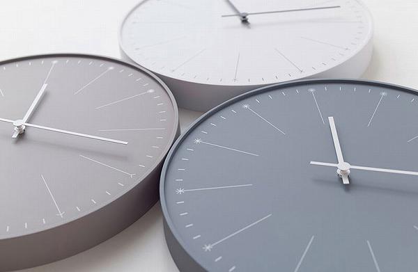 Lemnos 掛け時計 ABS