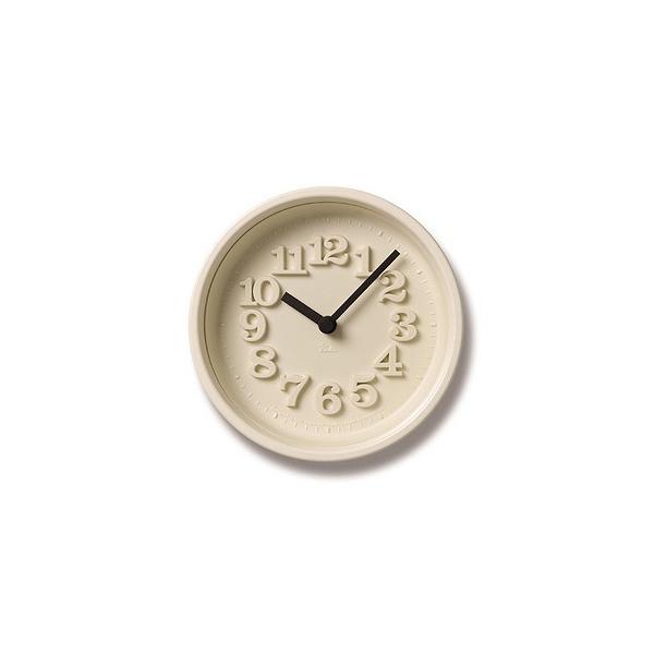 Lemnos 掛け時計 スチール ABS