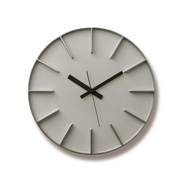 Lemnos 掛け時計 アルミニウム