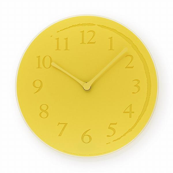 ガラス Lemnos 掛け時計