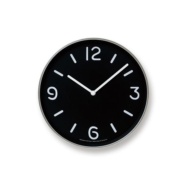 アルミニウム Lemnos 掛け時計