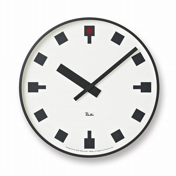 アルミ Lemnos 掛け時計