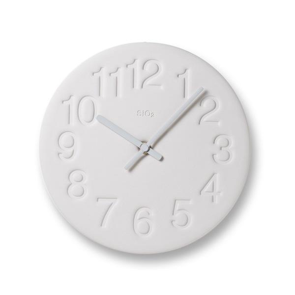 珪藻土 Lemnos 掛け時計