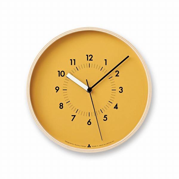 Lemnos 掛け時計 プライウッド
