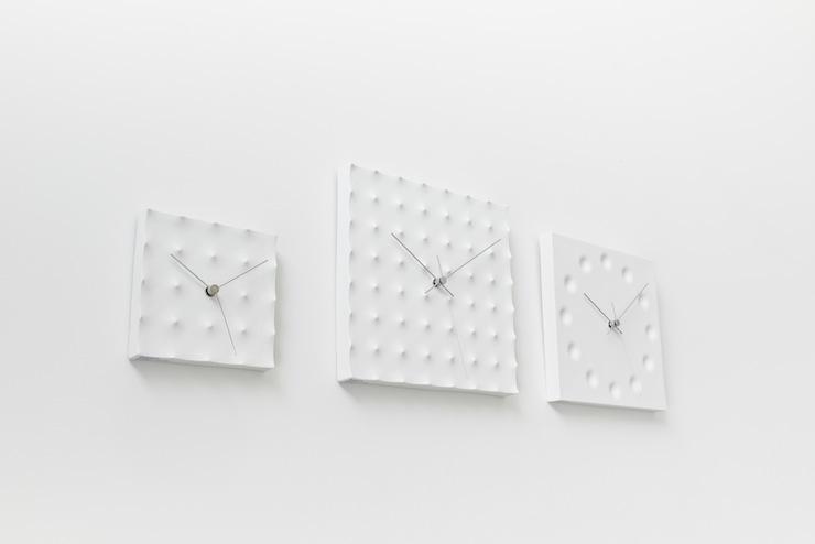 Lemnos 掛け時計 磁器