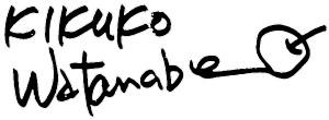 KIKUKO_Watanabe_sign
