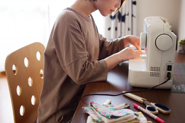 裁縫 リビング