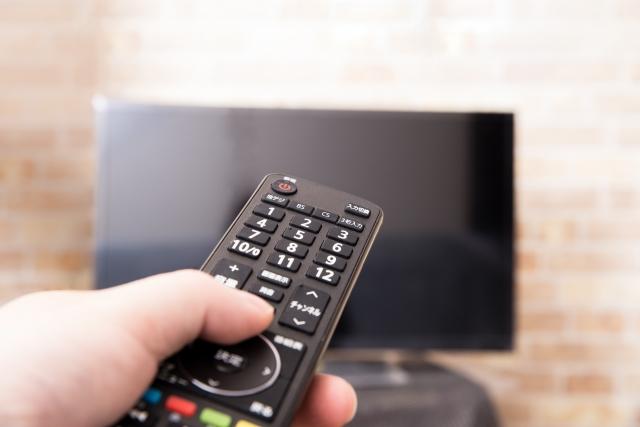 テレビをつける