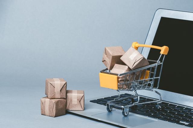 パソコンでネットショッピング