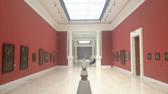 美術館の展示